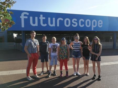 Séjour au Futuroscope - Du 31 juillet au 2 août 2018