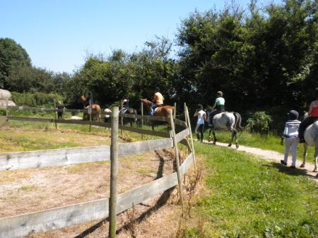 Séjour Equitation Eté 2012